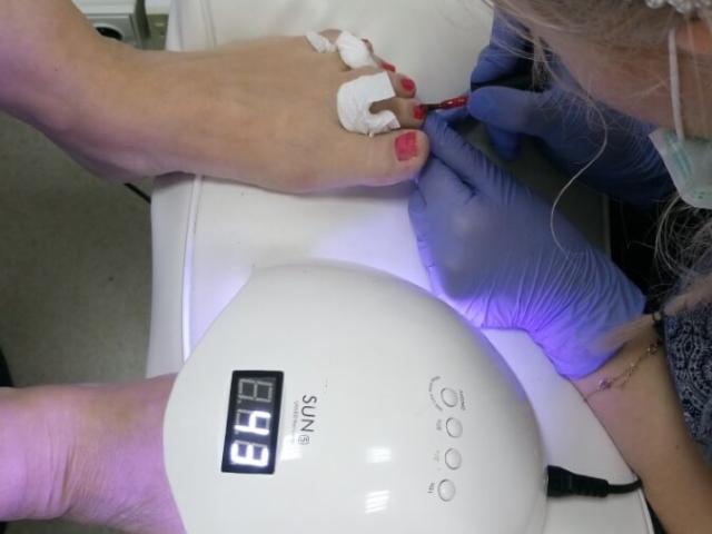 Zawodowy kurs stylizacji paznokci - pedicure